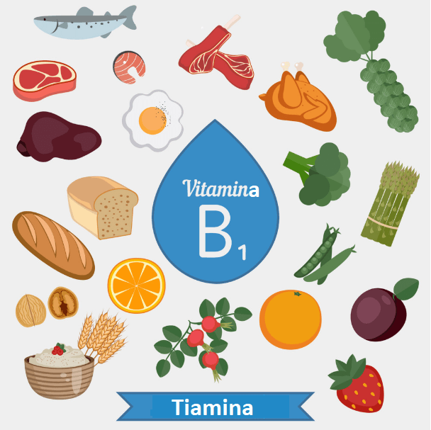 Vitamina B1 (tiamina): alimentos, benefícios e sintomas de deficiência