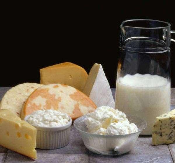 Brucelose, Alimentos a evitar, leite de vaca ou de cabra