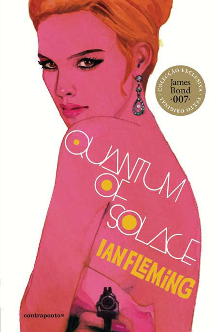 Livro Quantum of Solace – OO7 James Bond