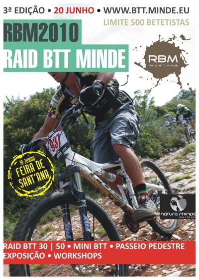 Raid BTT Minde 2010 – 20 de Junho