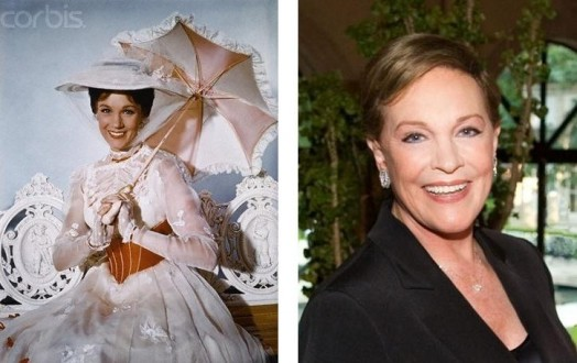 Julie Andrews – Atriz Mary Poppins