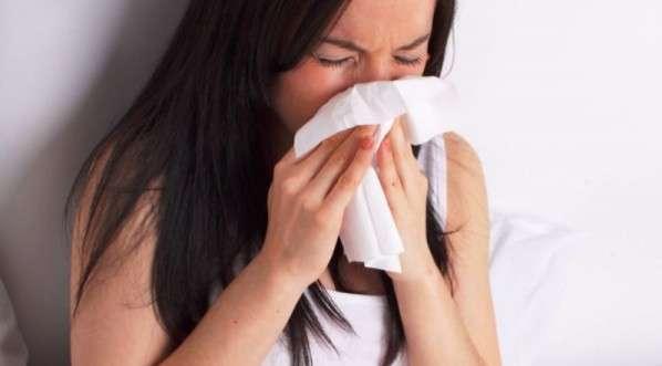 Foto de nariz entupido, congestão nasal
