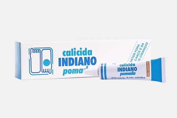 Calicida Indiano em pomada Ácido Salicílico 270mg ml