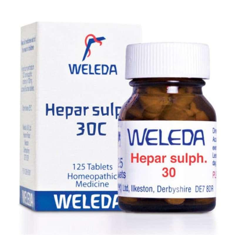 Remédio homeopático Hepar Sulphuricum