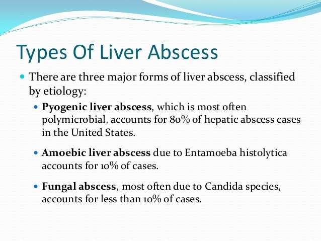 Entenda os sintomas e como tratar um Abscesso no Fígado (Abscesso Hepático)