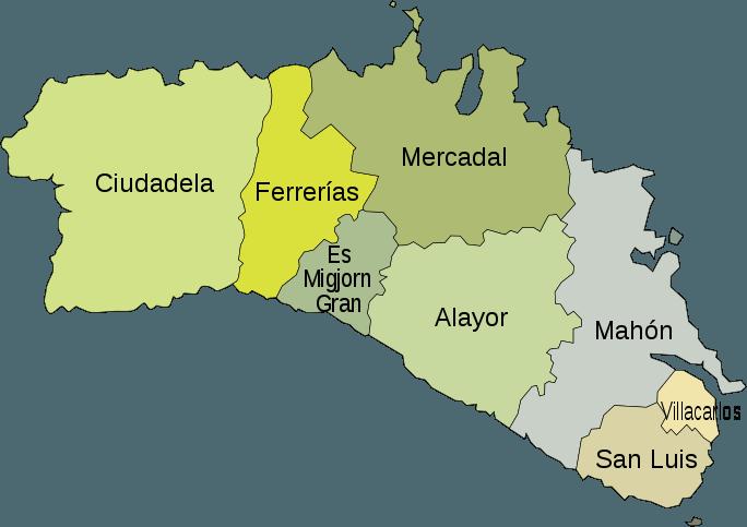 Menorca (Ihas Baleares, Espanha)