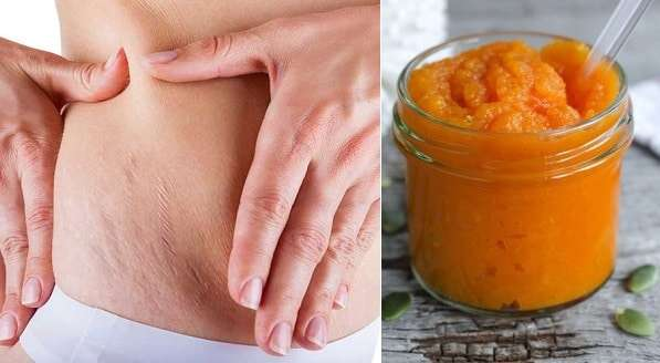 pasta de cenoura para eliminar estrias