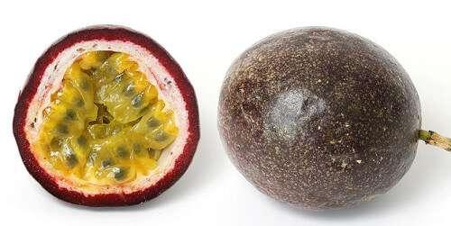 Suco de frutas relaxante