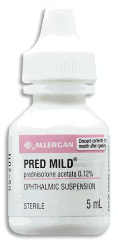 Prednisolona oftálmica
