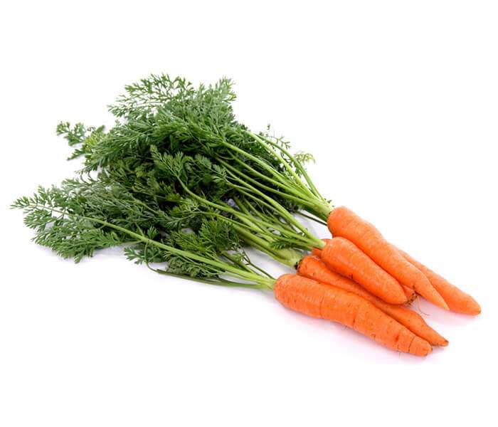 Suco para combater a anemia á base de agrião e cenoura