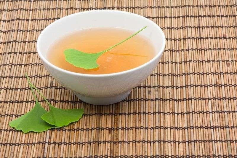 chá de Gingko Biloba