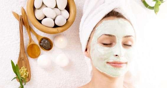 Máscara natural para pele irritada e inflamada