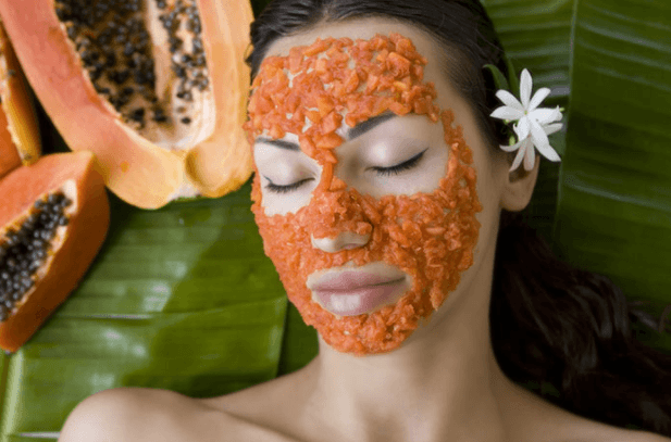 Máscara Facial De Frutas