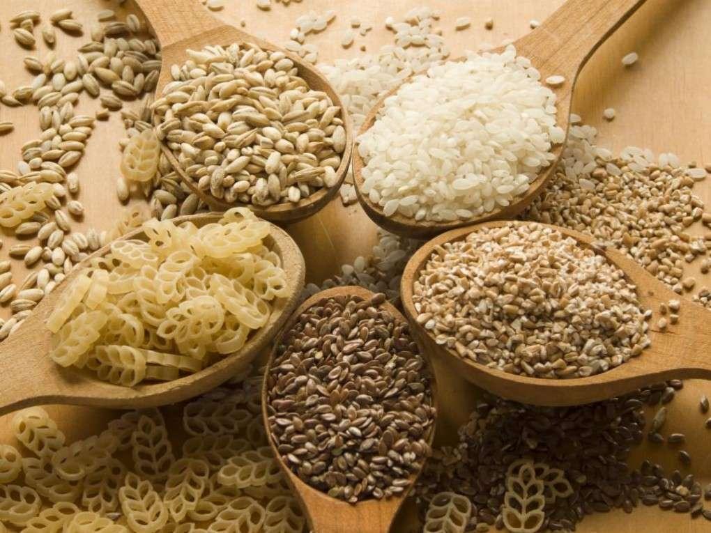Grãos inteiros, Cereais integrais