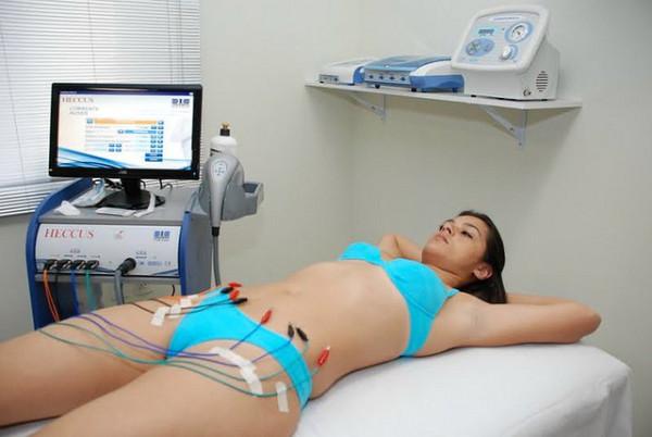 Eletrolipólise ajuda a Emagrecer
