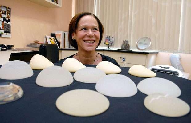 implante de protese de silicone