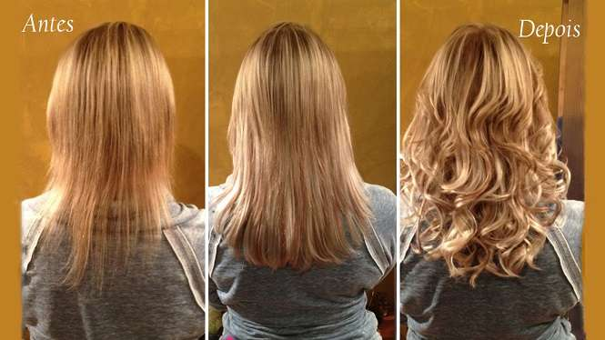 queda de cabelo na mulher antes e depois