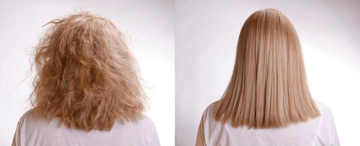 Escova marroquina: Veja o antes e depois