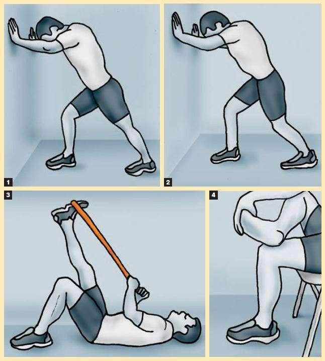 Etapas da Fisioterapia para Rompimento do tendão de Aquiles