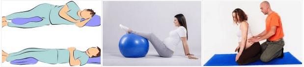 Como aliviar a dor nas costas na gestação com alongamentos