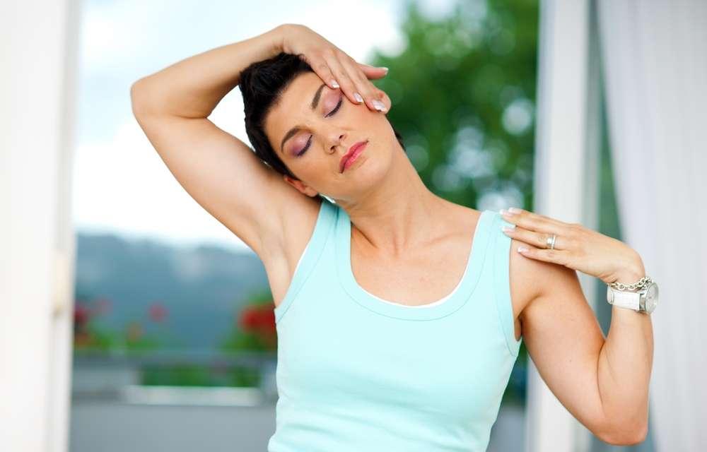 Alongamentos para dor no pescoço 2