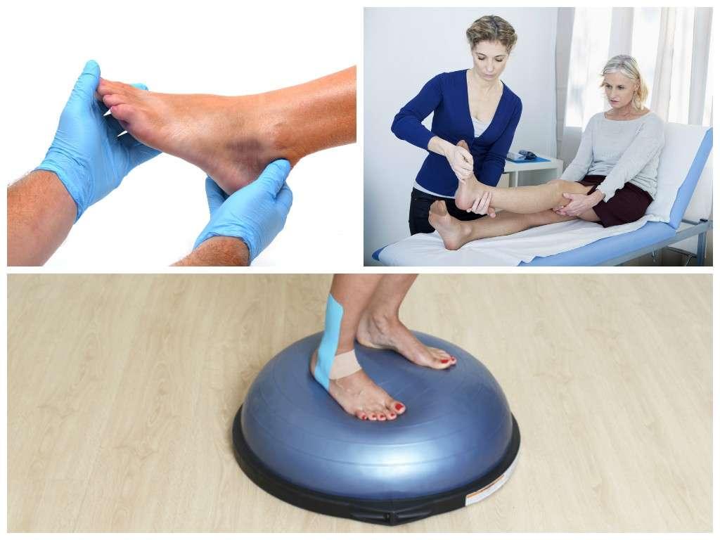 dicas uteis para tratar uma entorse de tornozelo