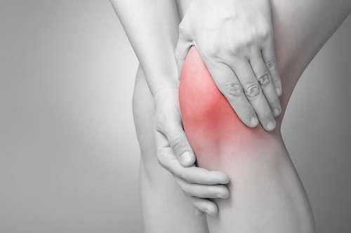 Dor e inflamação da tentinite da patela