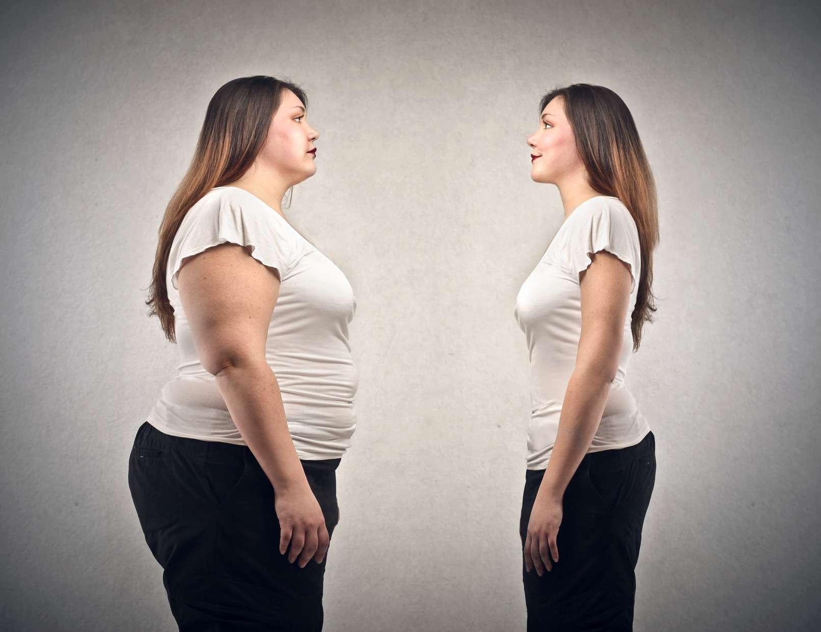 Emagrecimento antes e depois