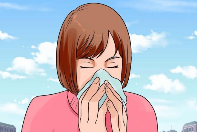 limpe o nariz com cuidado