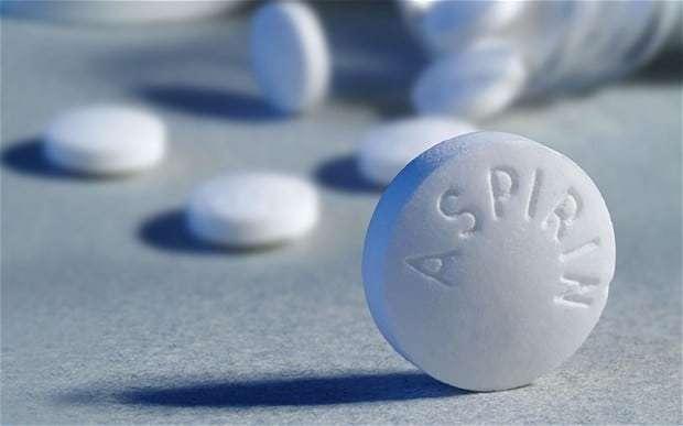 Aspirina: (ácido acetilsalicílico, AAS)
