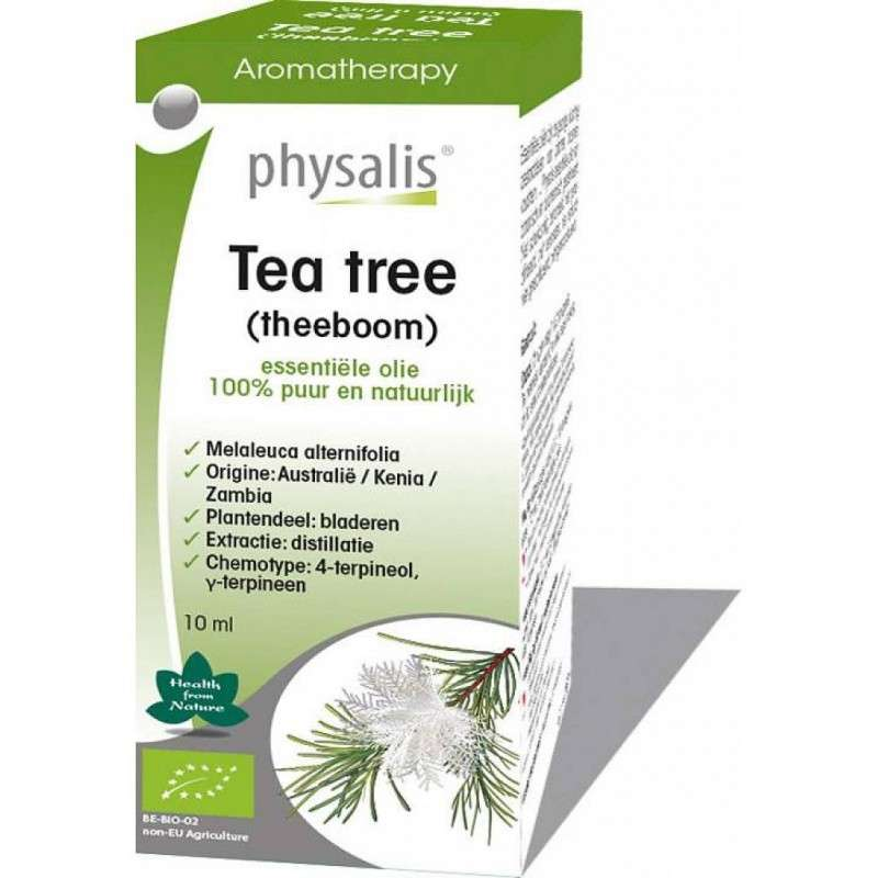 Blefarite, Óleo essencial da árvore do chá (Malaleuca) trata inflamação e coceira