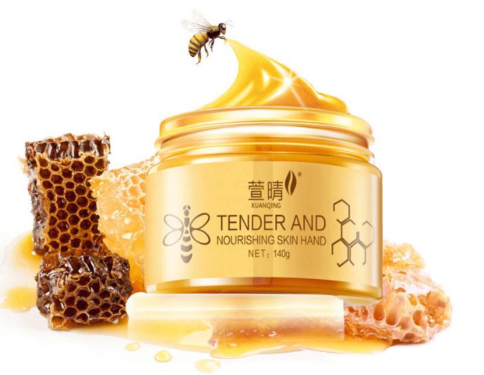 Esfoliante de aveia e mel