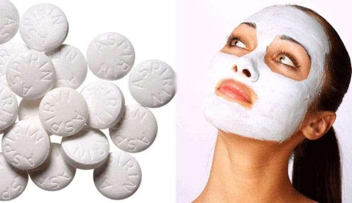 Máscara facial de Aspirina