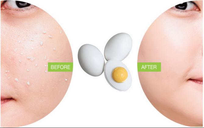 Tratamento facial noturno com gema de ovo e azeite