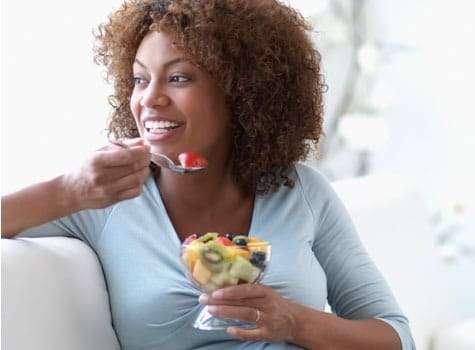 alimentação para mulheres de pele negra
