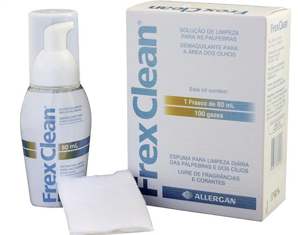 Frex Clean para blefarite