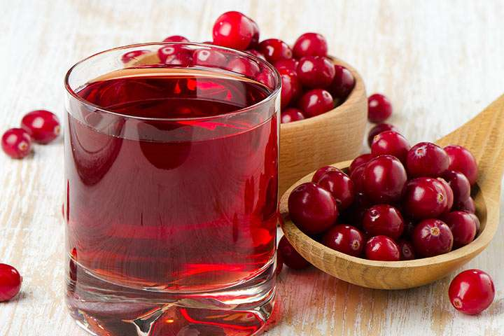 suco do Cranberry (arando)
