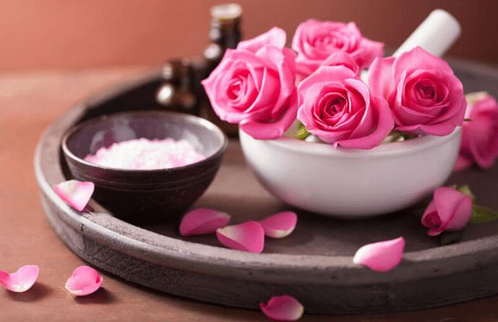 Oleo De Rosa Centifolia Rosa Damascena