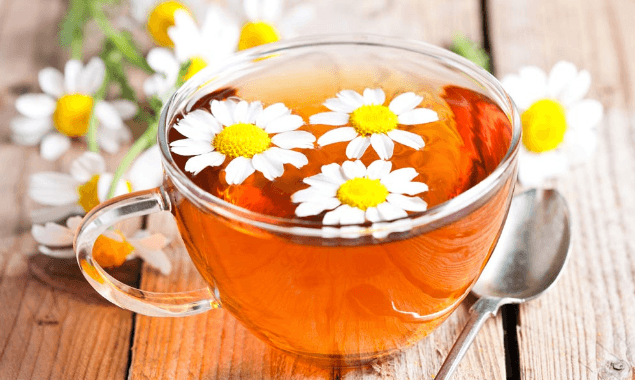 Chá De Camomila (Matricaria Recutita)