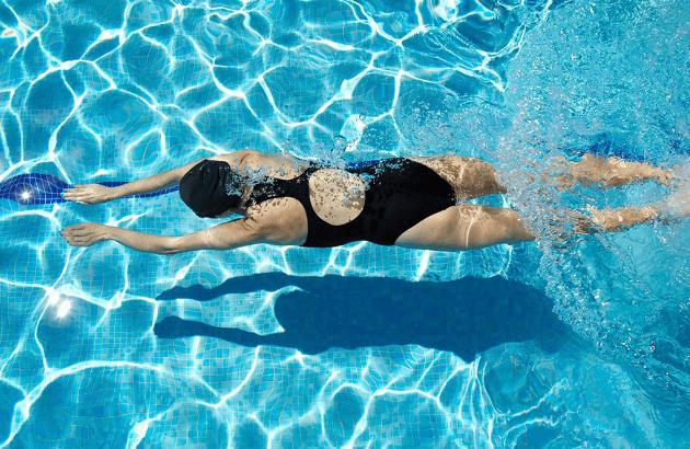 Nadar Faz Bem ás Costas