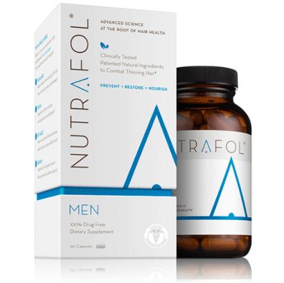 Nutrafol, O Suplemento Nutracêutico E Vitaminas Para A Queda De Cabelo 100% Natural Que Atua No Combate Do Estresse, Desequilíbrios Hormonais, Envelhecimento, Radicais Livres E Inflamações