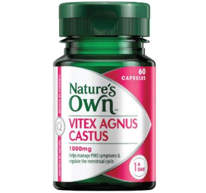 Suplemento Vitex Agnus Castus