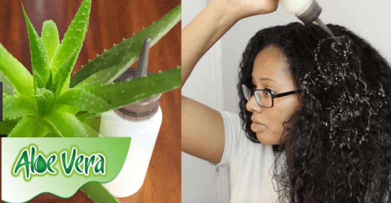 Aloe Vera Para Cabelo Crescer Rápido E Forte