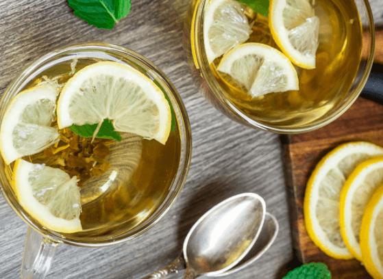 Chá Verde Com Limão, A Dupla Perfeita Para Emagrecer A Barriga