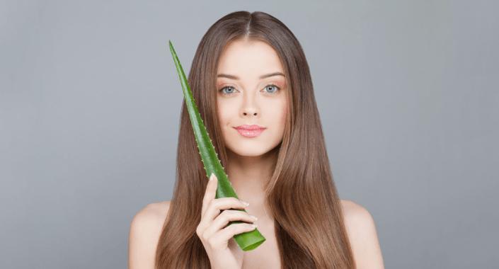 O Gel Da Babosa, Aloe Vera Gel é Muito Bom Para Acelerar O Crescimento Capilar