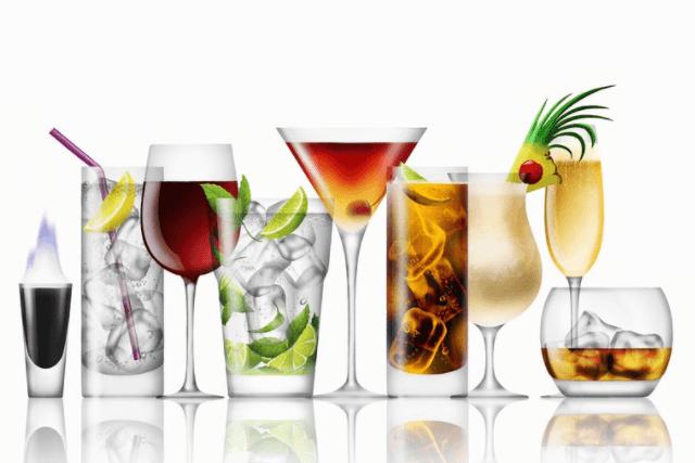 Álcool, Cafeína E Bebidas Carbonatadas