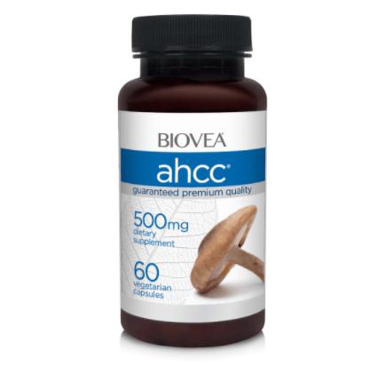 Suplemento De AHCC Em Cápsulas (Composto Ativo Correlacionado De Hexose Ativa)