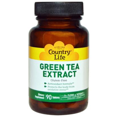 Suplemento De Extrato De Chá Verde Em Cápsulas