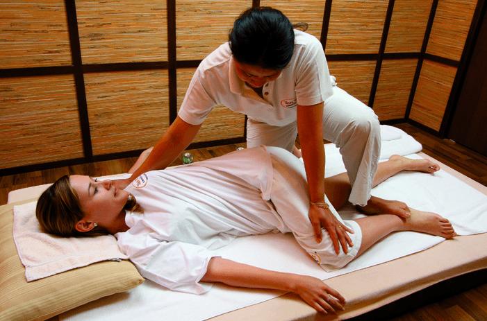 Massagem Tailandesa Tradicional