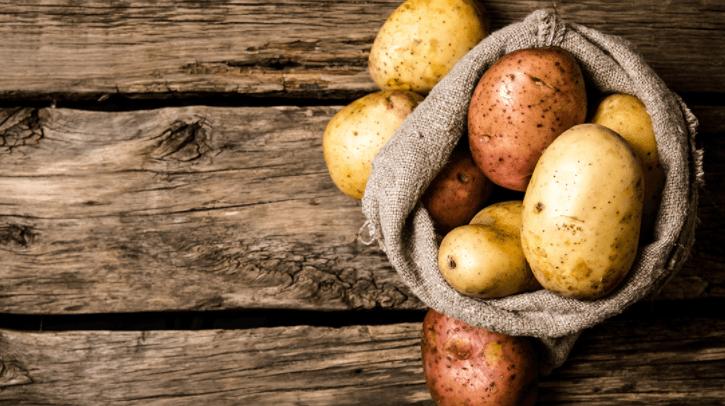 Suco de batata para azia